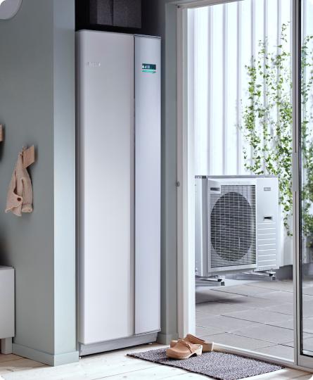 Pompa ciepła w domu jednorodzinnym